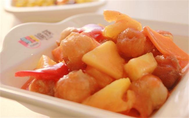 菠萝咕老肉肉