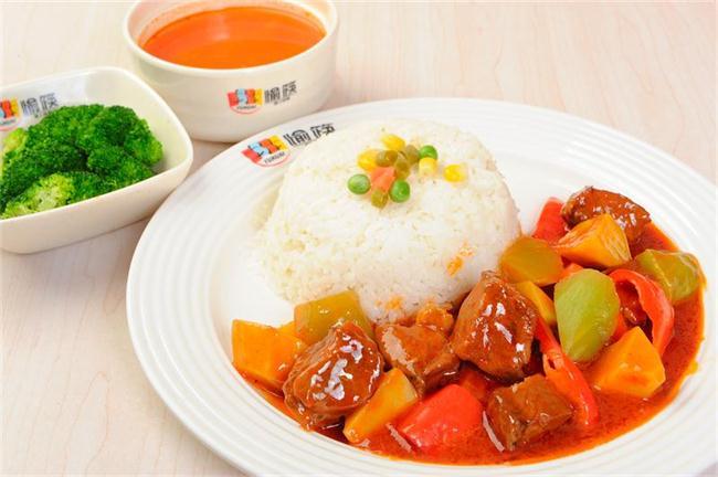红烩牛肉餐